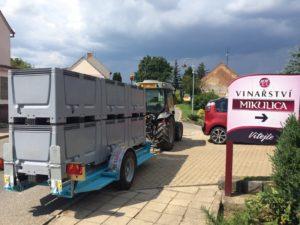 LPV agro vozík naplastové boxy Agrofer