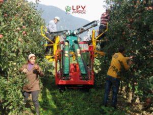 Samochodný stroj na ovoce do sadu LPV agro Agilis