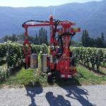 Odlisťovač defoliátor vinohradu