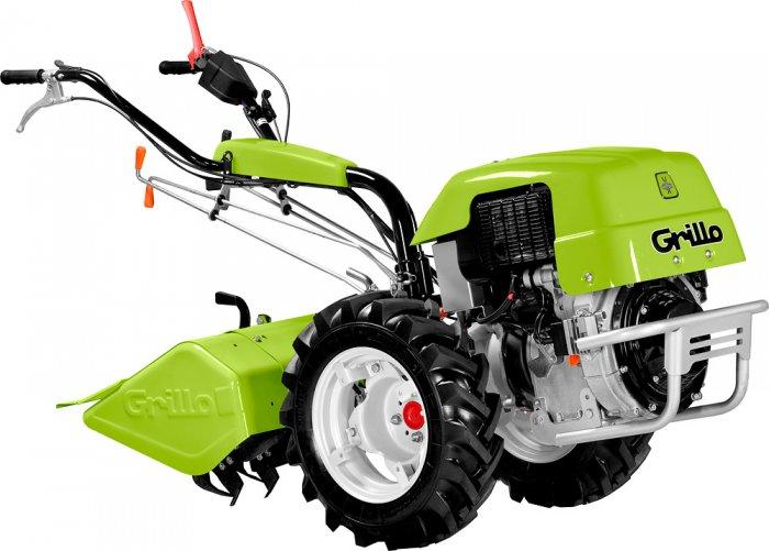 Jednoosý zahradní traktor Grillo s rotavátorem