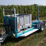 Vozík agrofer big boxy bedny hrozny vinobraní ovoce