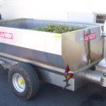 Vozík na hrozny s eliptickým čerpadlem/LPV agro