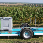 Agrofer vozík doprava big boxy hrozny ovoce sklizeň