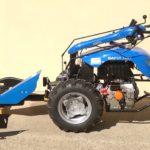 Jednoosý žací dvoukolový malotraktor