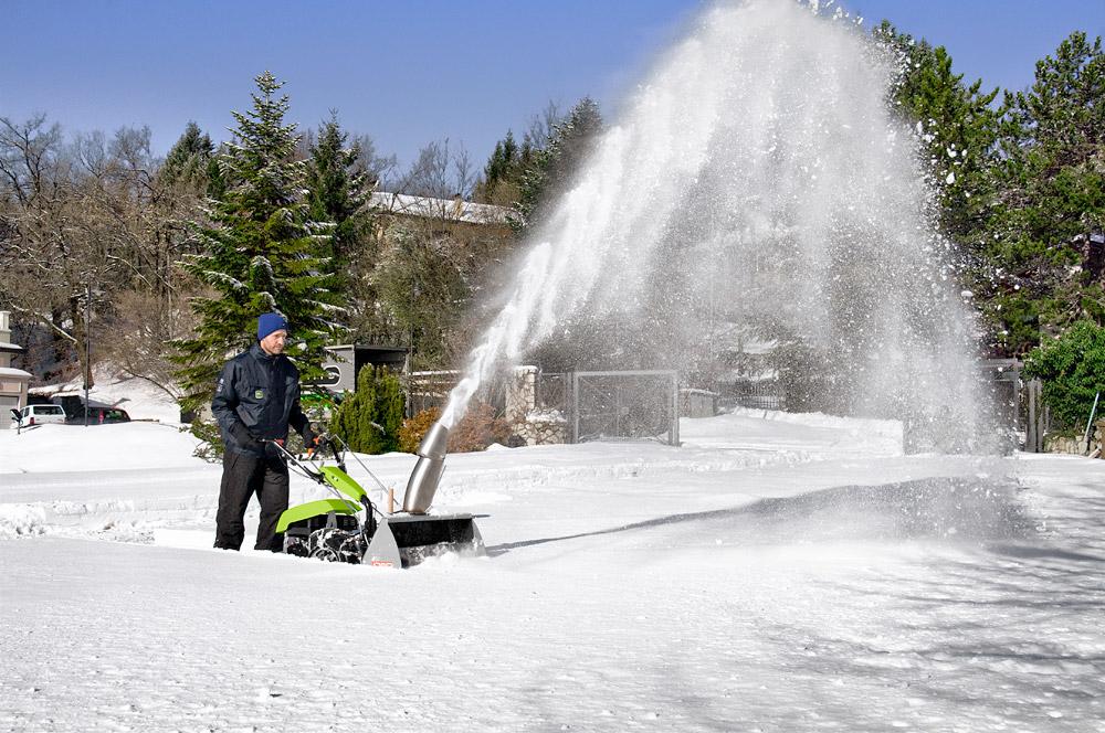 Zimní údržba sněhová fréza Grillo